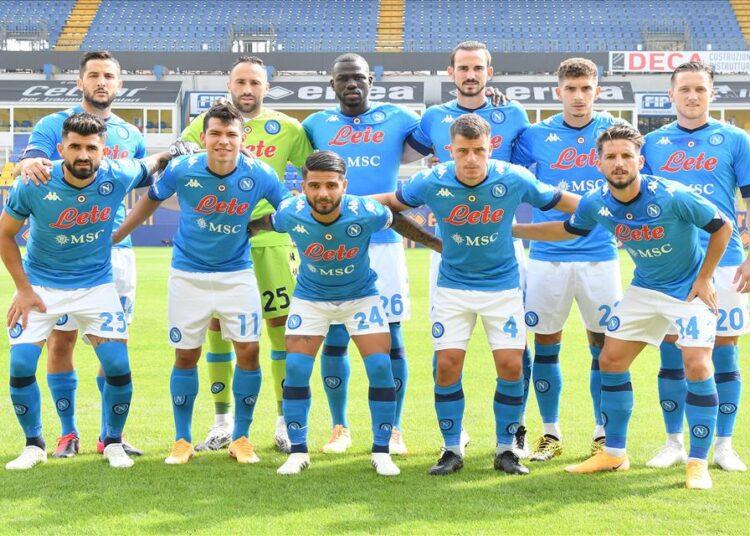 i nuovi tamponi al Napoli