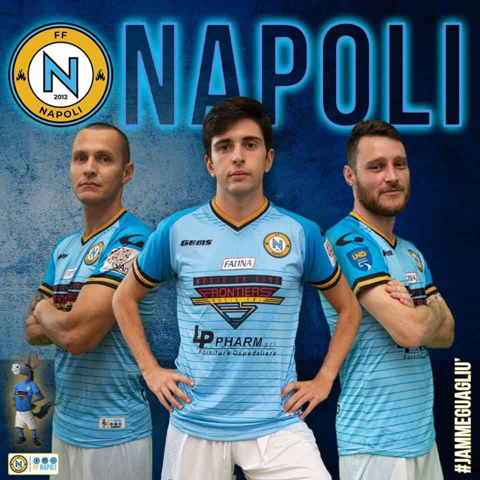 Ecco la nuova maglia ufficiale dell'FF Napoli